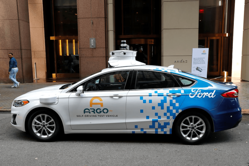 Ford, Argo AI, Lyft to launch US autonomous ride service this year