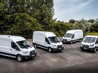 Ford delivers E-Transit prototypes to companies in Germany, Norway, and the UK
