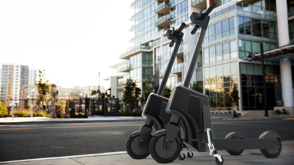 Virtual Valet technology could prevent e-scooters cluttering footpaths