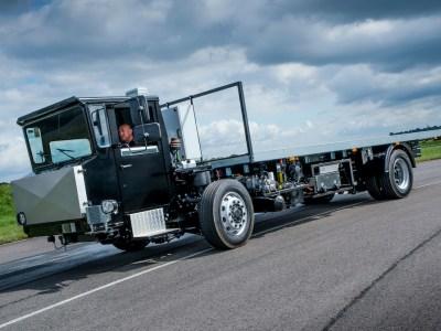 Volta Minus One trials prototype Zero full electric 16-tonne truck