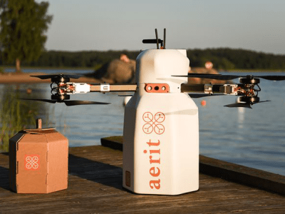 Swedish drone delivery start-up receives operational authorisation to pilot last-mile trial