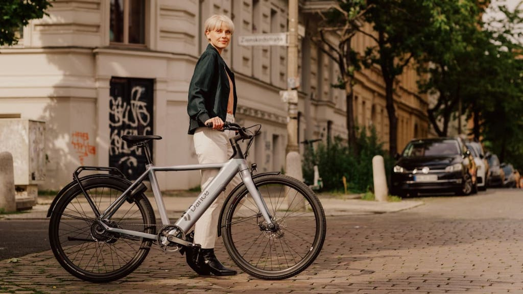 Berlin e-bike riders dancing to a different tune