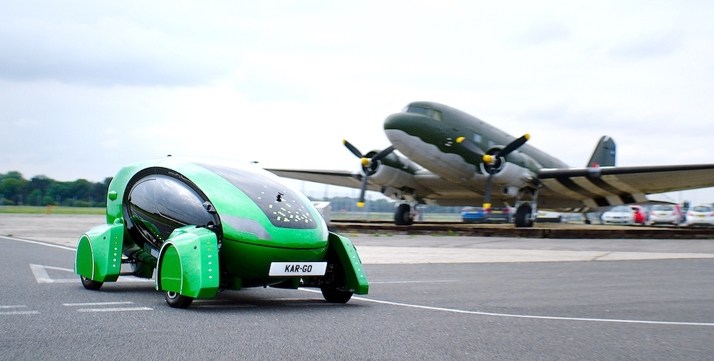 """British Air Force trials driverless bots for """"mundane"""" air base supplies"""