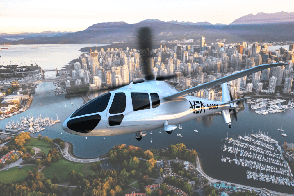 Fast-fuelling hydrogen system game-changer for air taxi operations
