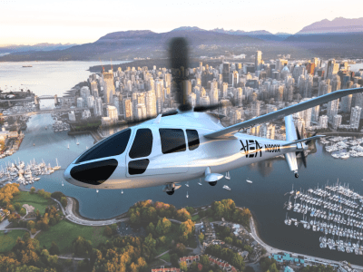 Fast-fuelling hydrogen system would be a game-changer for air taxi operations