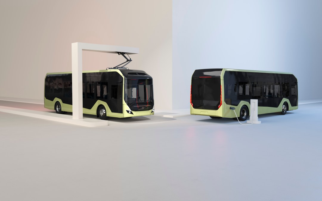 Volvo applies circular approach to its new electric bus chassis