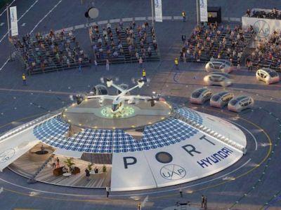 Hyundai backs plan to develop 65 electric urban-air ports worldwide