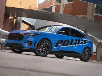 Ford puts Mustang Mach-E on police duty in US and UK