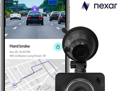 Crowd-sourced dash cam data provides real-time status on road works