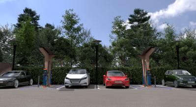 Osprey's planned UK EV hub network uses Finnish charger optimisation technology