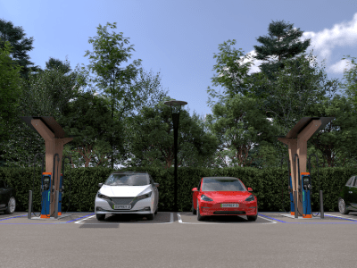 Osprey's planned UK EV hub network uses Finnish charger optmisation technology