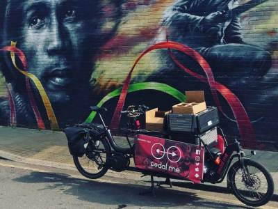 London study suggests cargo bikes significantly more productive than vans