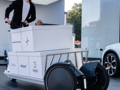 Open collaboration develops novel Polestar electric urban cargo scooter