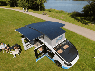 Dutch students head to southern Spain in their self-powered solar camper