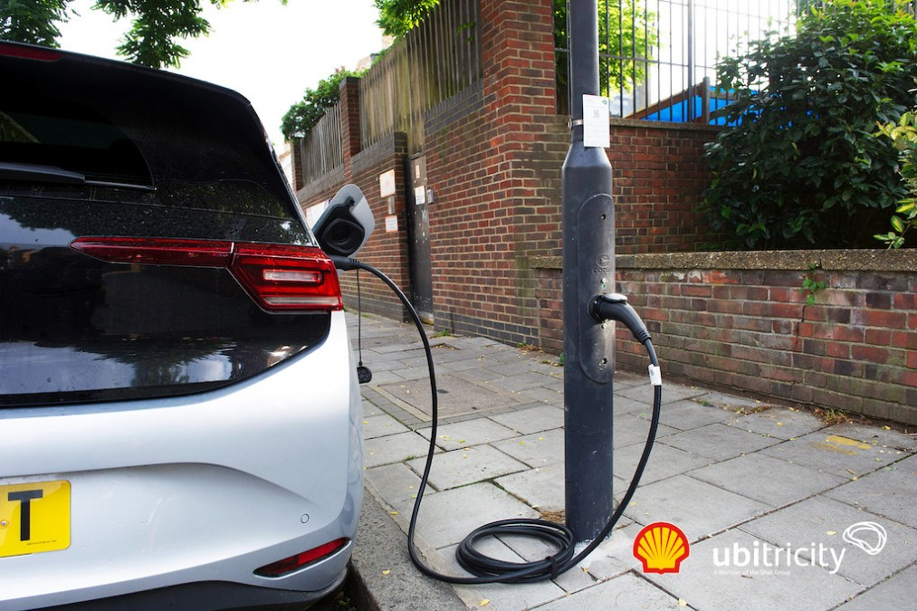 Shell bases UK target for 50,000 on-street chargers on government funding scheme
