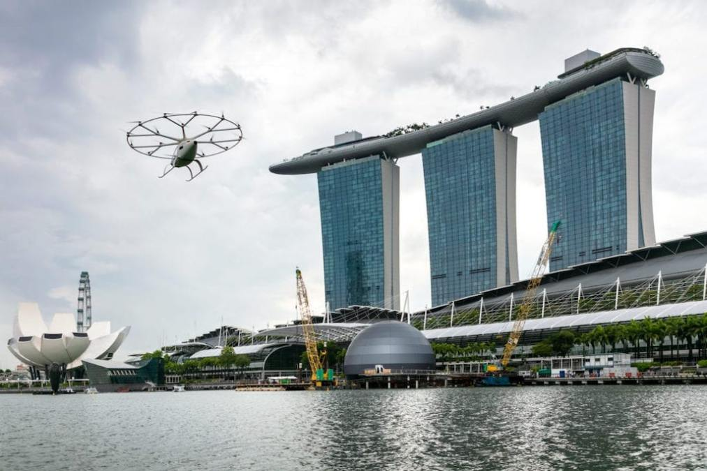 Volocopter and Geely JV aims to bring affordable air taxis to China