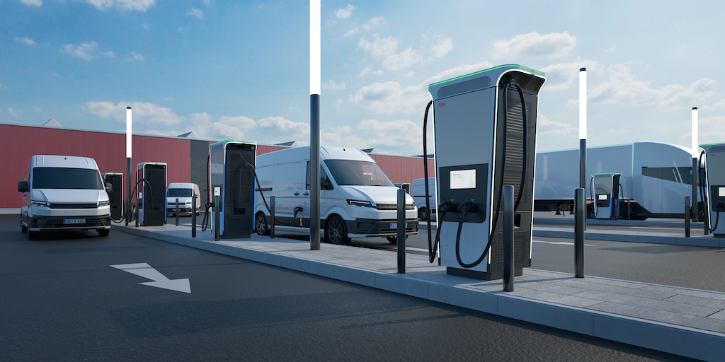 ABB says Terra 360 is world's fastest car charger