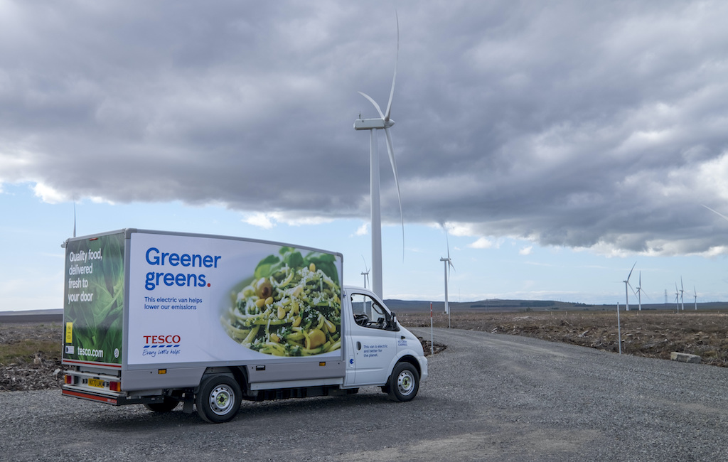 UK's biggest grocery chain sets path for fully electric home deliveries by 2028