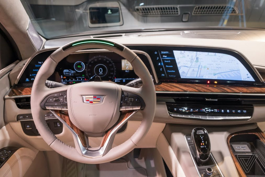 """GM says software platform offers drivers """"smartphone-like"""" experience"""
