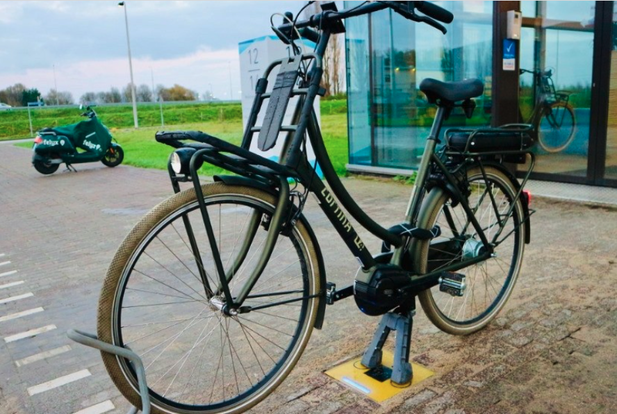 Inductive bike charging pilot roles out in Holland