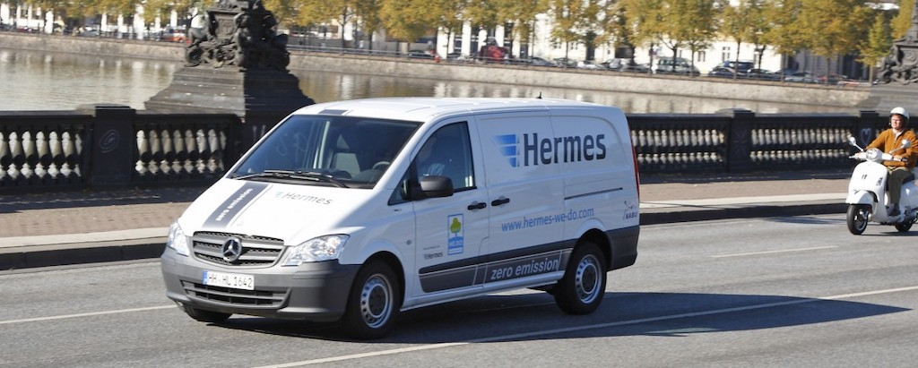 British parcel service provider orders 168 Mercedes eSprinters