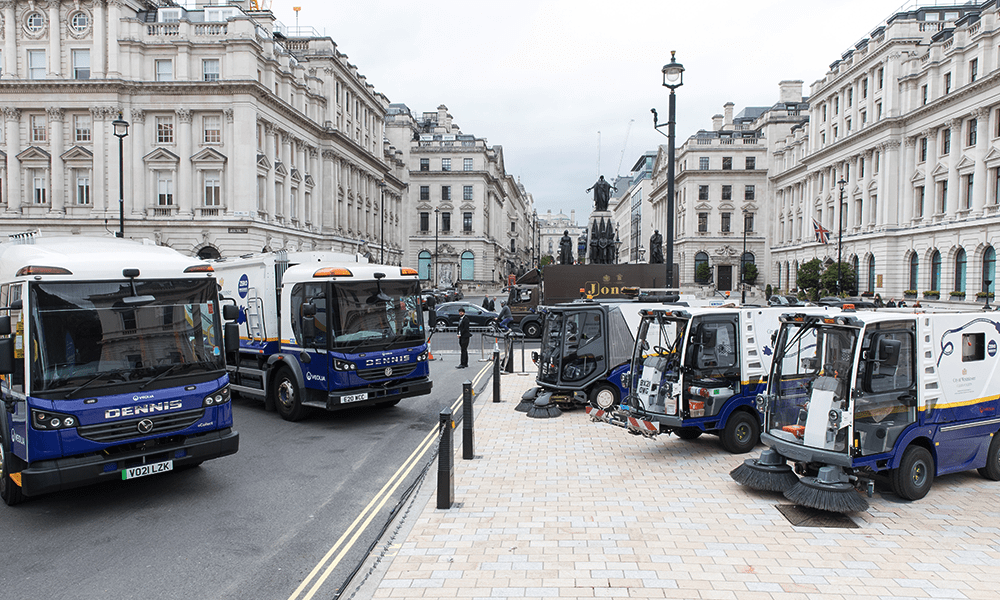 London's West End gets electric waste and street cleansing fleet